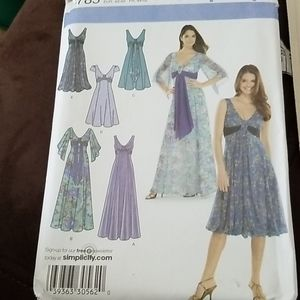 Sewing Patterns New Simplicity Dresses